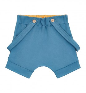 Blue shorts with suspenders BASIC
